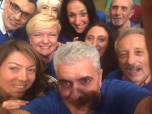 L'Assessore Maria Morena Lucà e i Semper Giuvin